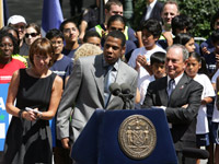 Jay-Z and Michael Bloomberg announce Summer Streets