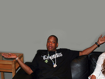 Jay-Z Shrugs,  I'm Not the Prez