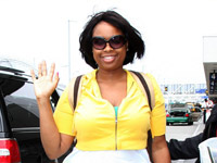Jennifer Hudson at LAX airport