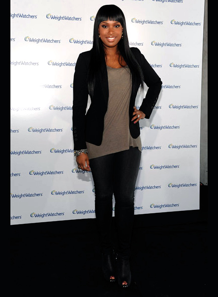Jennifer Hudson Presents her New Slim Look for Weight Watchers