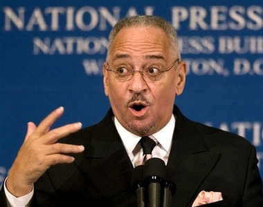 Rev. Jeremiah Wright at the National Press Club