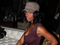 Jill Marie Jones at Tank's Birthday party