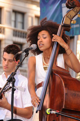 J&R Music World MusicFest 2008 - Esperanza Spalding