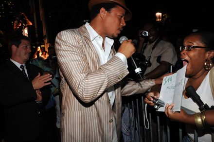J&R Musicworld MusicFest 2008 - Terrence Howard greets his fans