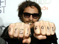 Joaquin Phoenix - F- Hollywood fists