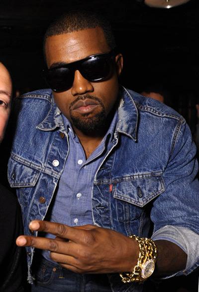 Kanye West And Lady Gaga At Dj Reflex S Birthday Party
