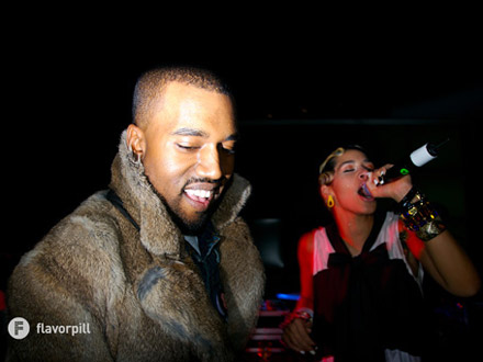 Kanye West and Kid Sister at the Planetarium at Central Park NYC