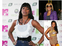 Kelly Rowland, Mary J Blige and Christina Milian