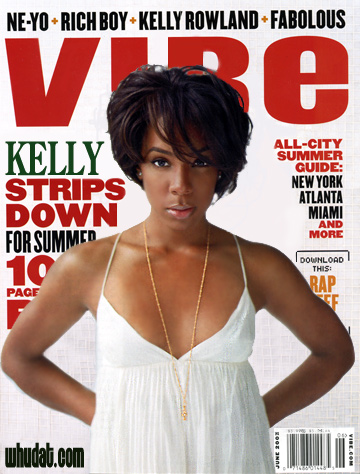 Kelly Rowland Vibe Magazine Cover