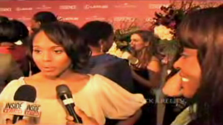 Kerry Washington interviewed at the Essence Oscar bash