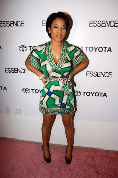 Keyshia Cole at Toyota/Essence event