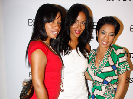 Keyshia Cole, Mashonda, Aleix Phifer at Toyota/Essence event
