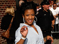 Keyshia Cole leaving The David Letterman Show