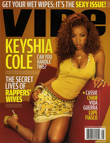 Keyshia Cole Vibe cover - Aug 06
