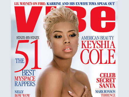 Keyshia Cole Vibe cover - Dec 07