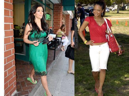 kim kardashian style dresses. Kim Kardashian and Christina