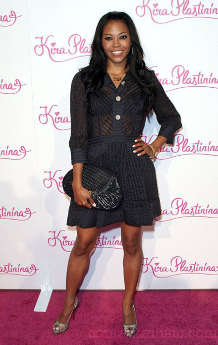 Amerie looking classy and sexy at Kira Plastinina Launch Party