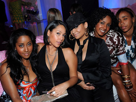 Raven Symone and Friends at Kira Plastinina Launch Party