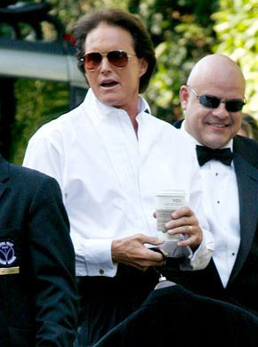 Bruce Jenner at Lamar Odom/Khloe Kardashian wedding