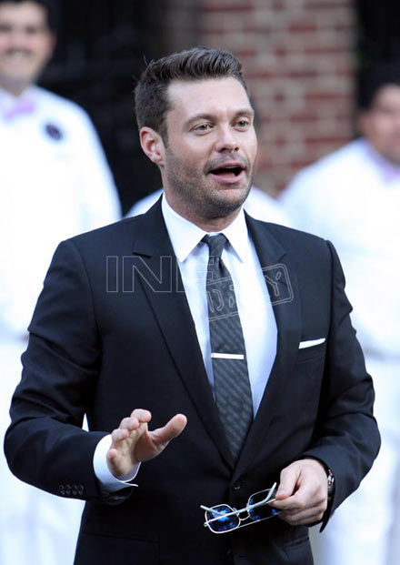 Ryan Seacrest at Lamar Odom/Khloe Kardashian wedding