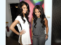 Lauren London and Cassie Visit MTV Sucker Free