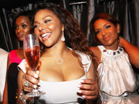 Lil Kim's Birthday Party