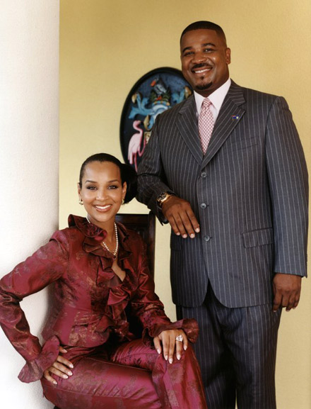 LisaRaye McCoy-Misick and Michael Misick