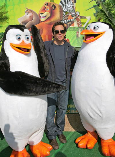 Ben Stiller at Madagascar Escape 2 Africa premiere