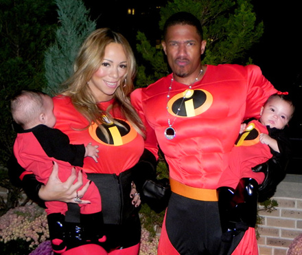 Mariah Carey and Nick Cannon debut their Incredible twins.