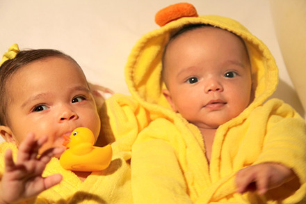 Mariah Carey and Nick Cannon's twins, Moroccan and Monroe