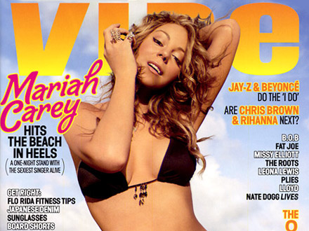 Mariah Carey on cover of Vibe Magazine