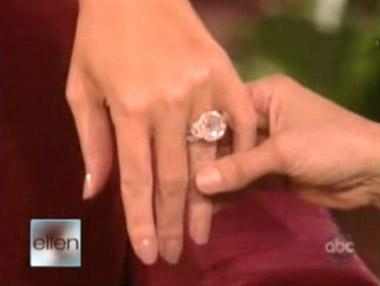 Mariah Carey Shows Off Her Wedding Ring On Ellen