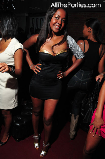 9.5 to a 10.. Some chick at Mario Winans birthday party