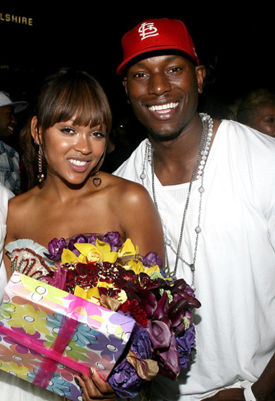Meagan Good 27 Birthday - Tyrese Gibson