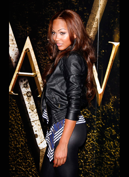 Meagan Good at Saw V premiere at the Mann's Chinese Theater