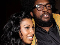 Melanie Fiona and Questlove