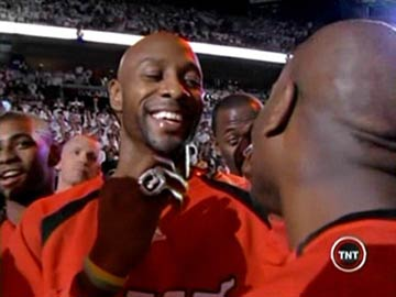Miami Heat Win Championship - Alonzo Mourning