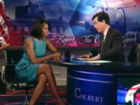 Michelle Obama on The Colbert Report