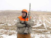 Mike Huckabee sporting some stylish hunting attire