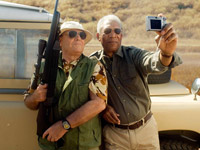 Morgan Freeman and Jack Nicholson in The Bucket List