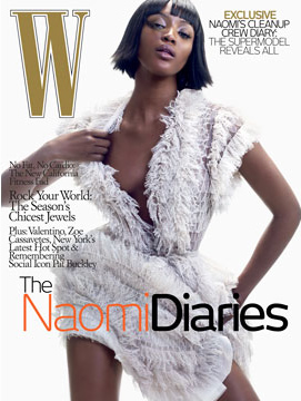 Naomi Campbell W Magazine - June 2007