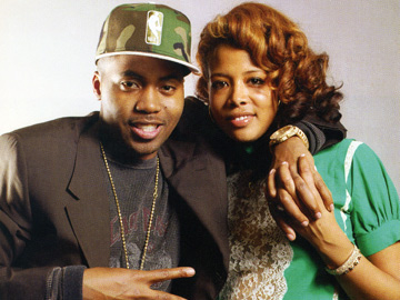Nas and Kelis in Stop Smiling Magazine