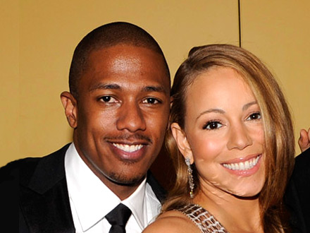 Nick Cannon and Mariah Carey at Lincoln Center