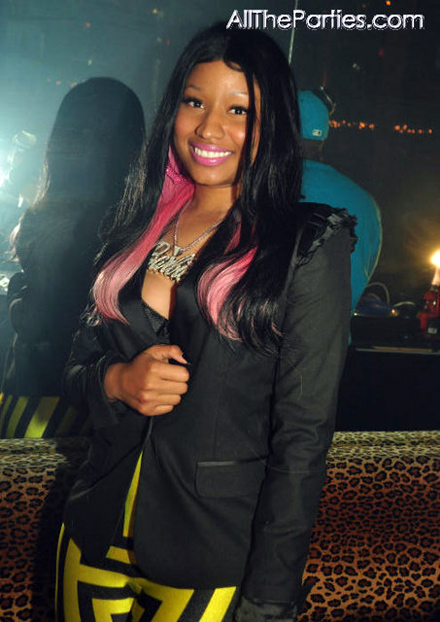 Nicki Minaj at M2 Mansion in NYC