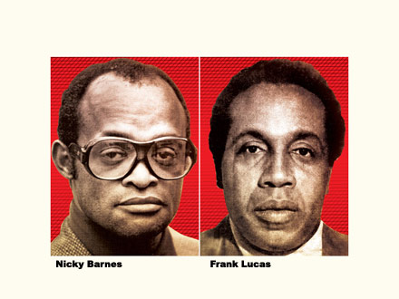 Nicky Barnes and Frank Lucas - New York magazine