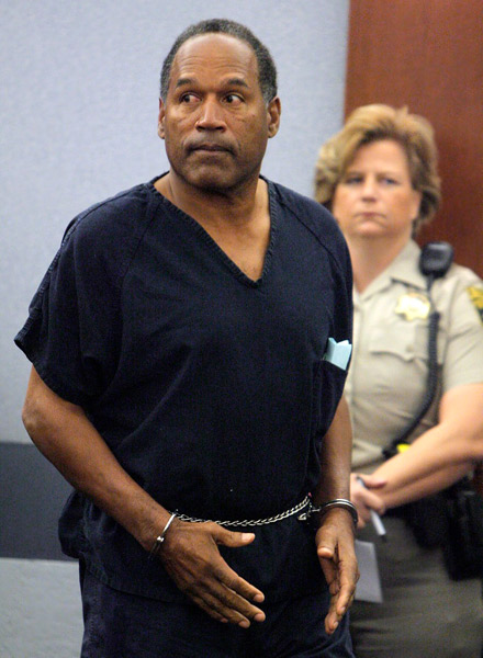 Oj simpson sentenced to 15 years in jail his last words i m