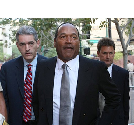 OJ Simpson and his lawyers head to another day in court