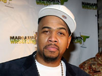 Omar Gooding at his album release party at Life