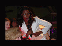 Omarosa getting rowdy