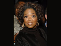 Oprah giving bug eyes